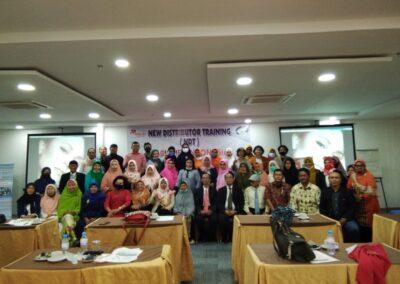 NDT ( New Distributor Training ) di Kota Medan
